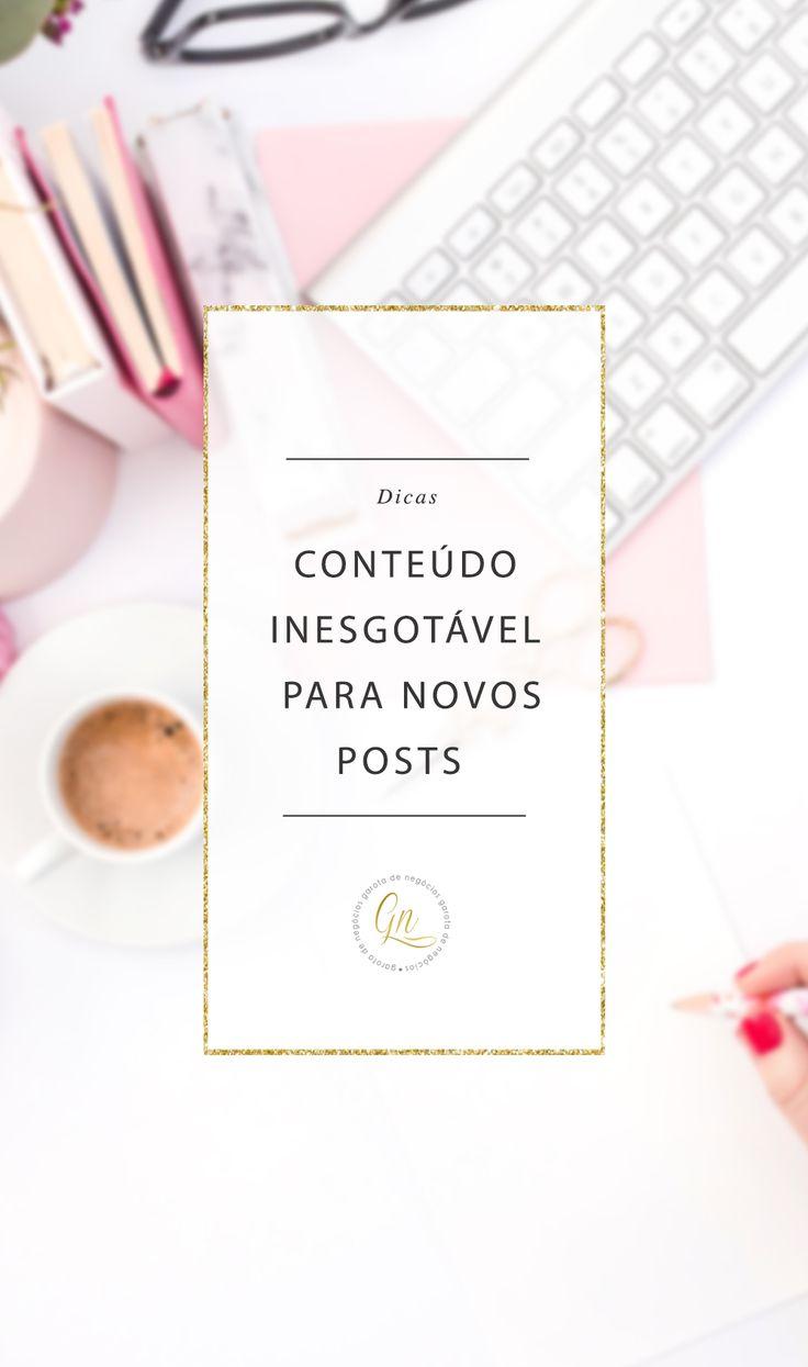 Não desanime, existem algumas formas de ter novas ideias para o seu blog e fazendo esses simples exercícios semprevocê vai conseguir criar um fonte...