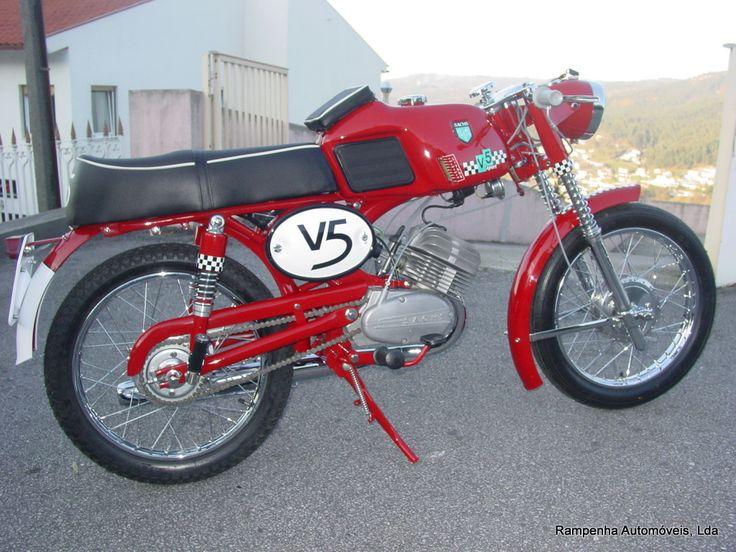 Restauro de Sachs V5 Sport