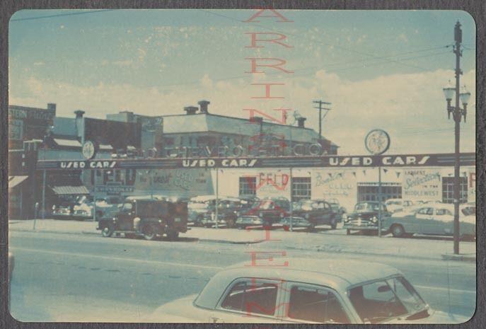 1950 S Feld Chevrolet Dealership Kansas City Kansas Car Dealership Chevrolet Dealership Vintage Cars