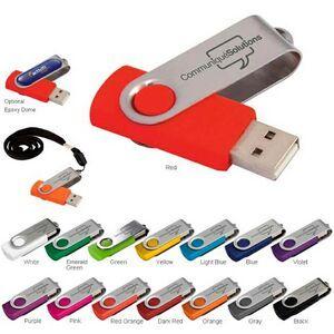 1 GB Folding USB 2.0 Flash Drive