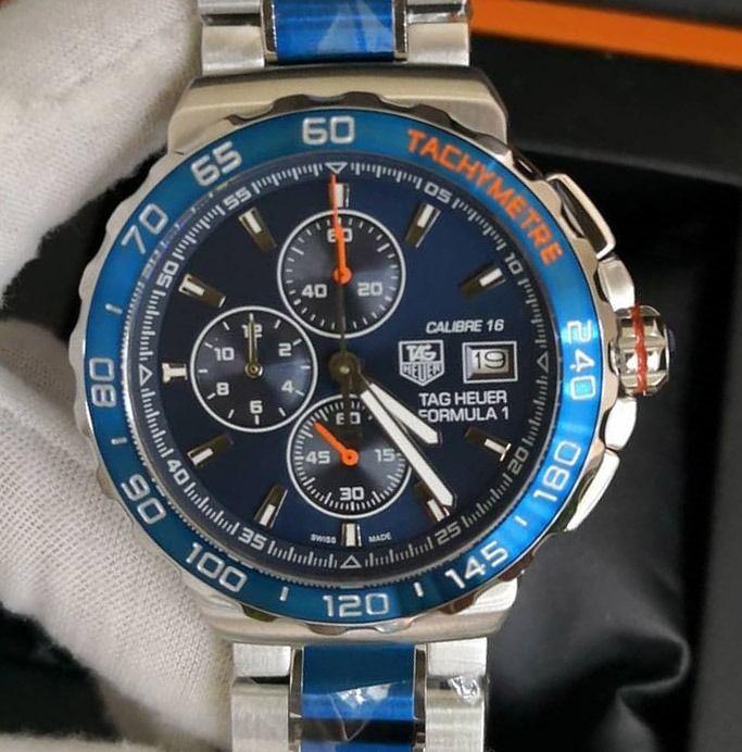 Relogio Tag Heuer Tachymetre Calibre 16 Formula One Limited