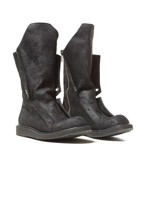 Leather SLIVER Wedges boots Spring/summer Rick Owens rajyy86k