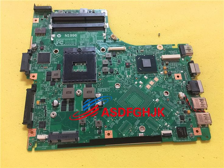 MS-1491 laptop motherboard MS-14911 for MSI X460DX Model Non-integrated good condition fully tested working well