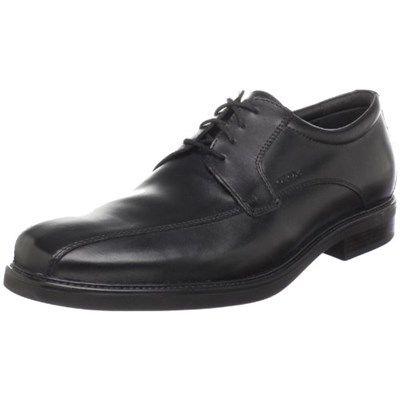 Chollo en Amazon España: Zapatos de cuero Geox Uomo Londra por solo 58,69€ (41% de descuento sobre el precio de venta recomendado y precio mínimo histórico)