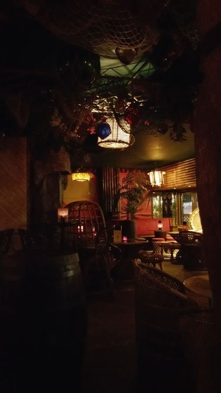 New tiki bar in South London's Clapham Junction, with decor by Cheekytiki....