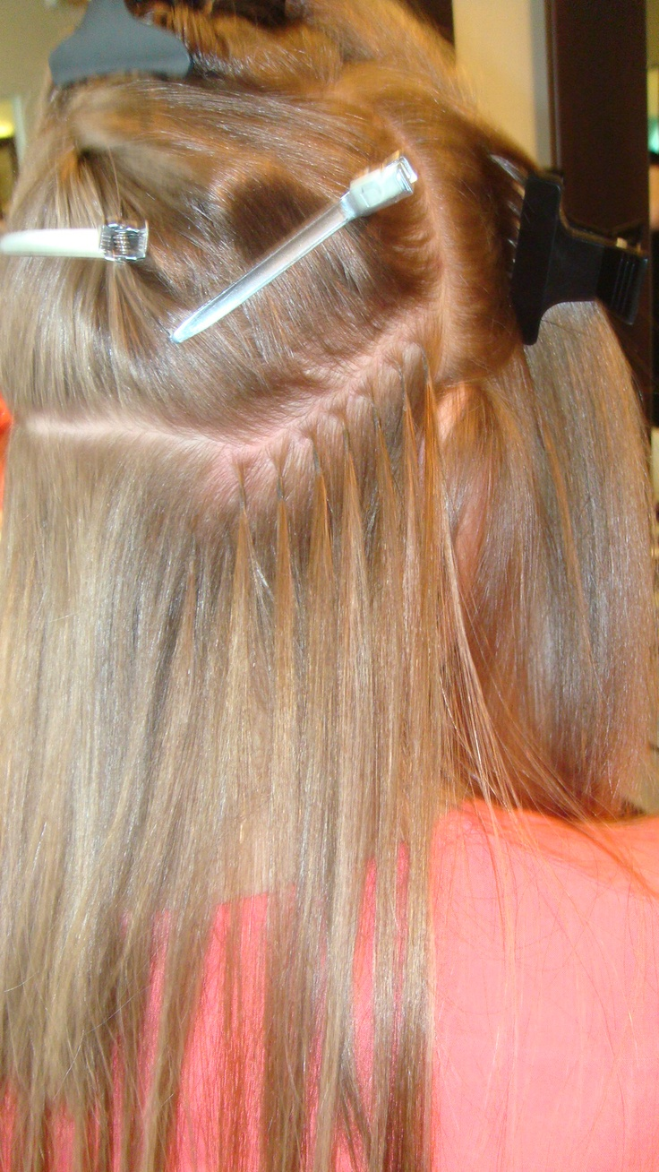 1000 images about natural human hair extensions connect system on pinterest - Beauty salon hair extensions ...