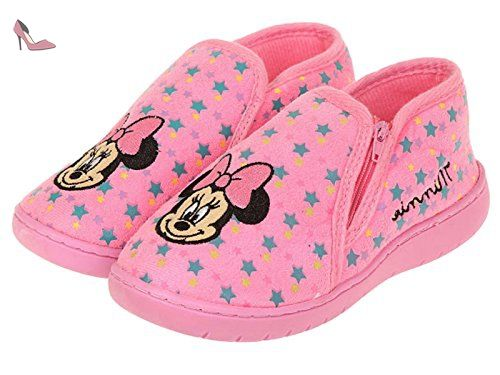 Disney Minnie Chaussons - fushia - 28/29 - Chaussures disney (*Partner-Link)