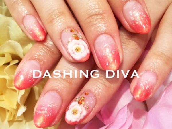 和柄ネイル|ジェルネイルデザイン|ダッシングディバ DASHING DIVA