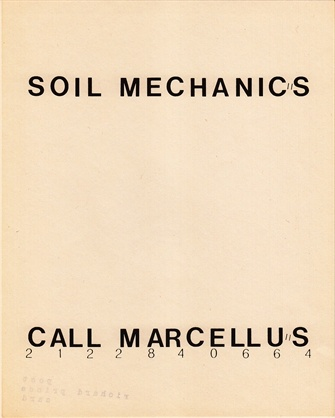 Richard Prince - Soil Mechanics