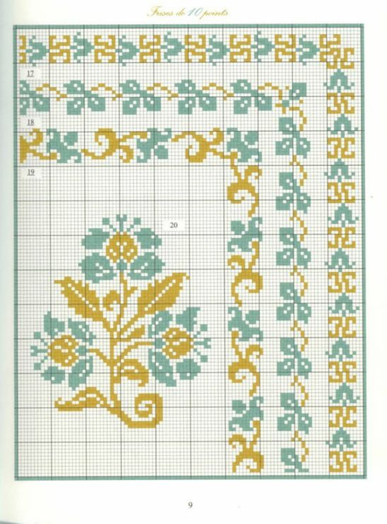 Gallery.ru / Фото #6 - Bordures et Frises Fleuries - Mongia