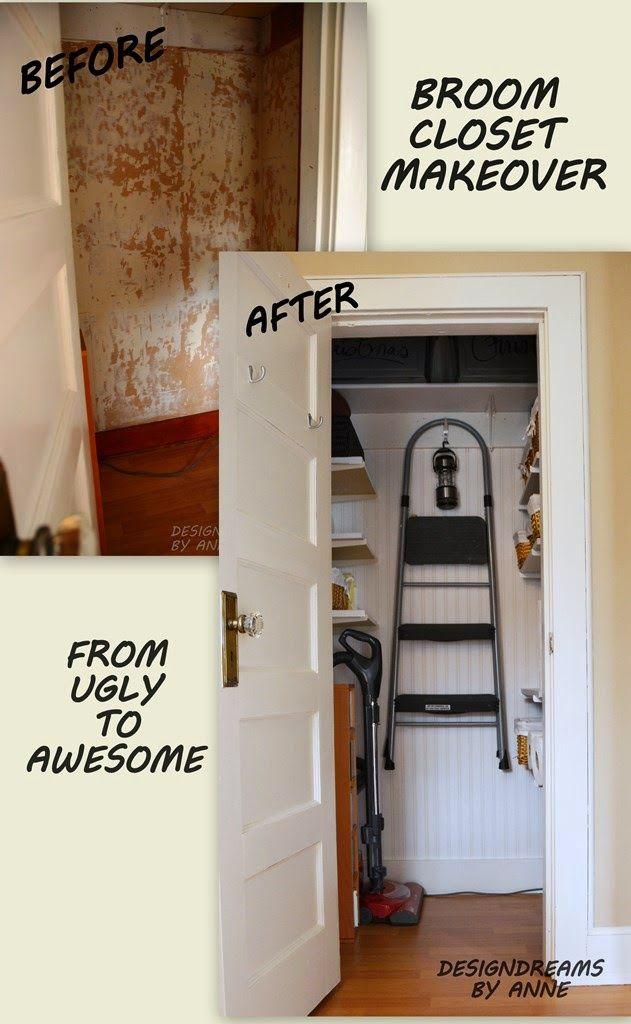 17 meilleures id es propos de armoire balai sur - Armoire rangement balai aspirateur ...