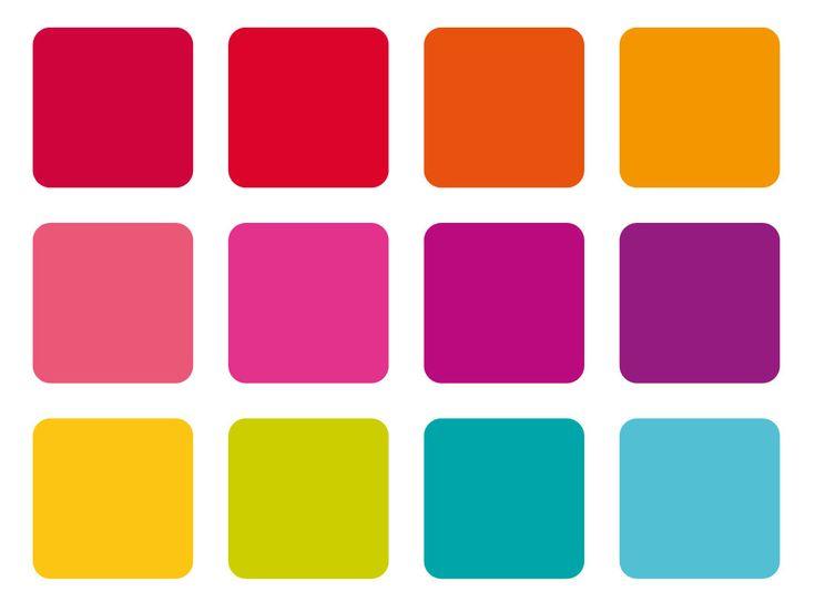 25 best ideas about modern color palette on pinterest for Bright vibrant colors