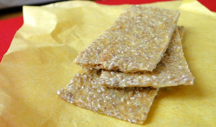 Crackers mangue-graines de chia | Fitnessfriandises.fr
