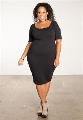 Sara Short Sleeve Dress | Plus Size Dresses | OneStopPlus