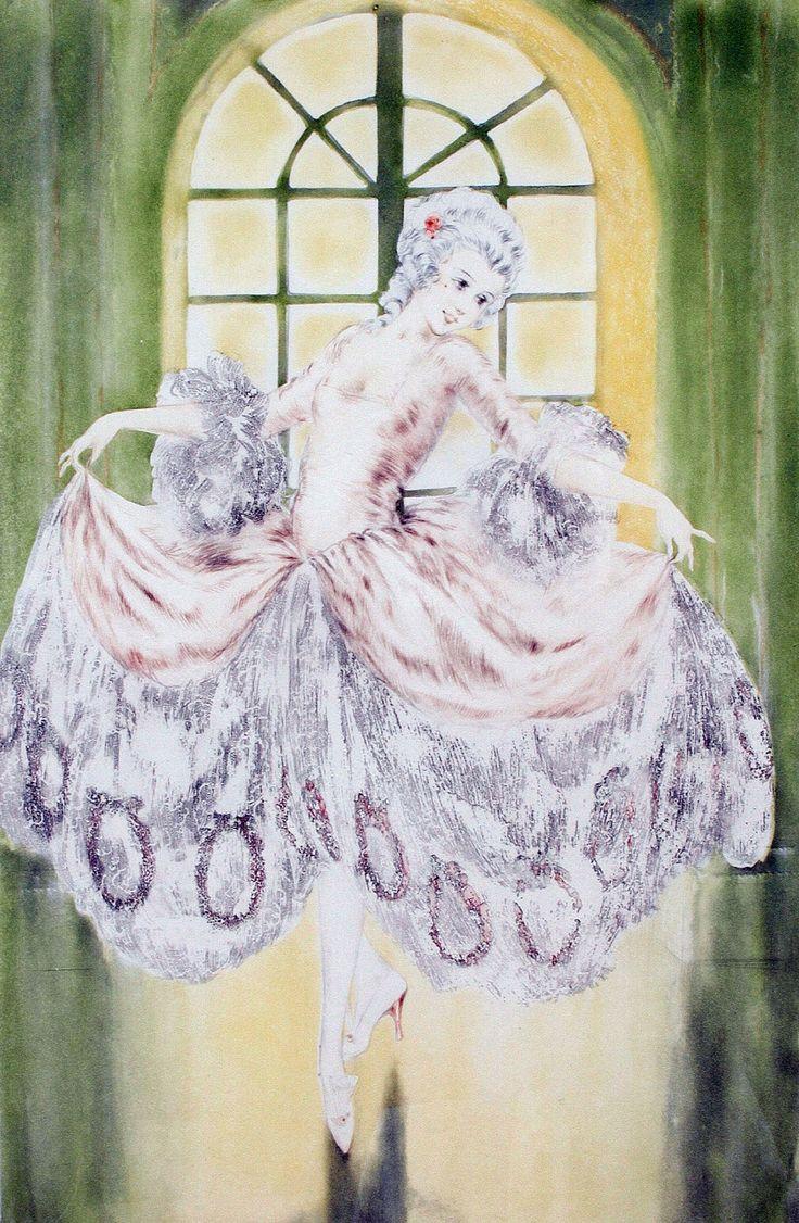 Louis Icart | Я рисую тебя невесомою кистью.... Обсуждение на LiveInternet - Российский Сервис Онлайн-Дневников