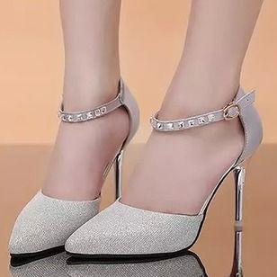 Zapatos Salón Tacón stilettos Cuero