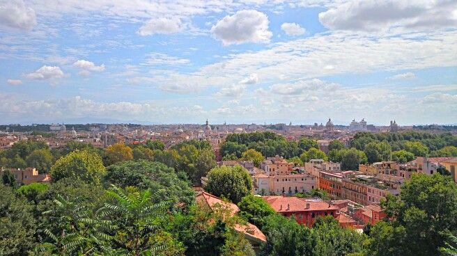 Veduta di Roma dal Gianicolo