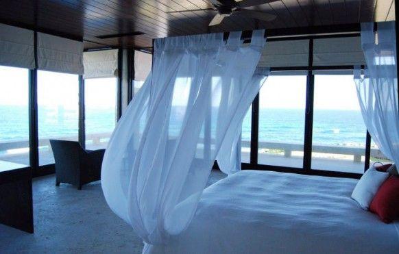 Billowy bedroom