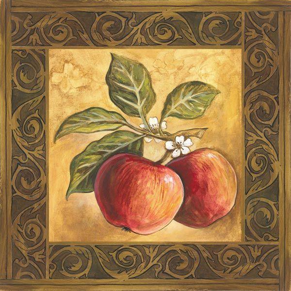 Las 25 mejores ideas sobre dibujos de manzanas en - Laminas decorativas para cocinas ...