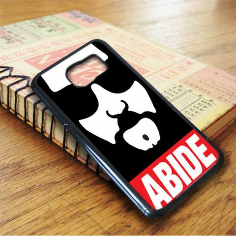 Big Lebowski The Dude Abide Samsung Galaxy S7 Case