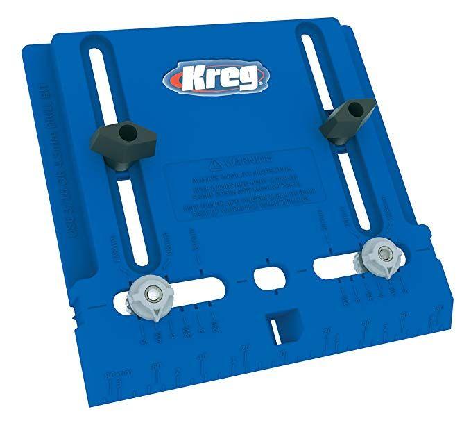 Kreg Tool Company Khi Pull Cabinet Hardware Jig Amazon Com In 2020 Kreg Tools Cabinet Hardware Tool Company