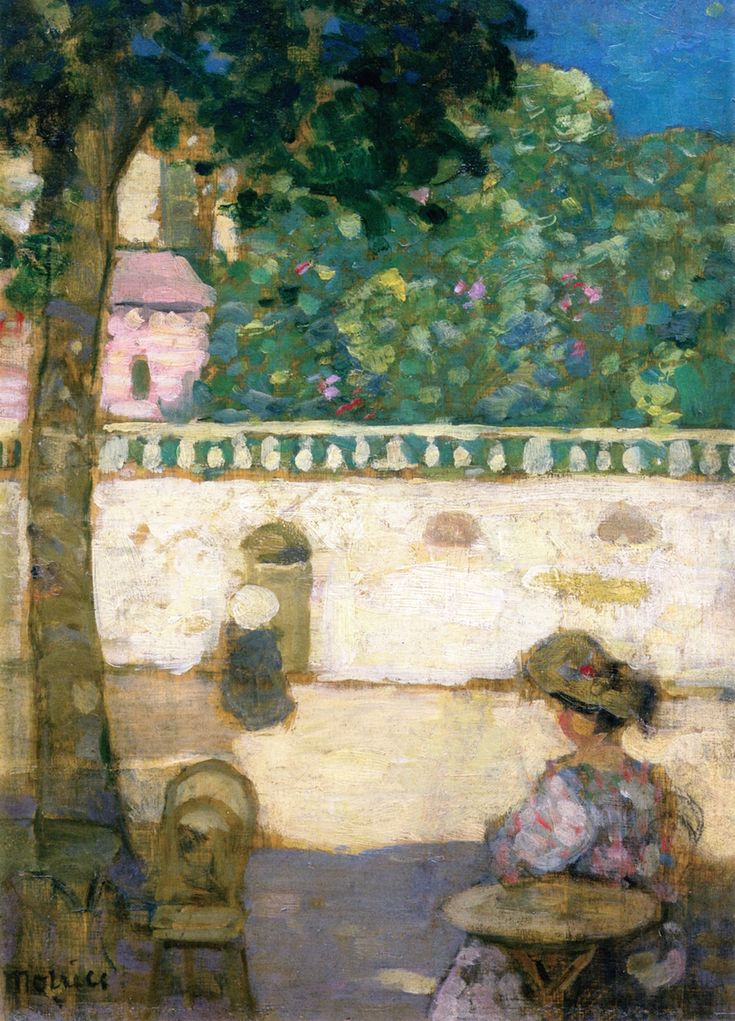 The Athenaeum - Afternoon, Avignon (James Wilson Morrice - )