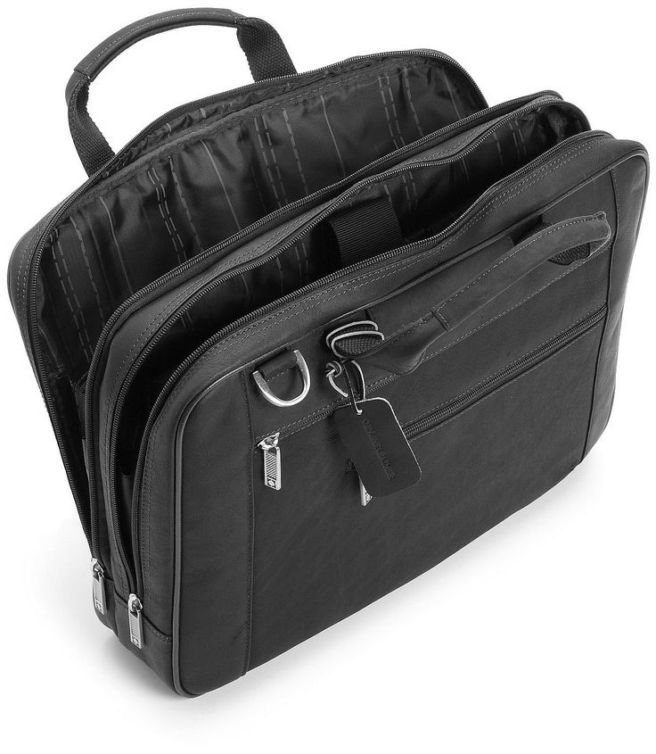 """tangentul perfect"" Kenneth Cole Reaction Luggage Double Play Briefcase https://gentosenii.wordpress.com/2016/07/11/servieta-piele-kenneth-cole-reaction-luggage-portlaptop-17/ via @GENTOSENII servieta neagra, genti din piele naturala, geanta mare de umar"