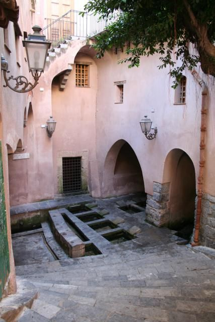Cefalù, arabic baths, Sicily, Italy
