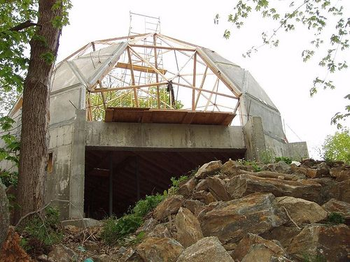 Geodesic dome homes norwalk ct geodesic dome house may 5 - The geodesic dome in connecticut call of earth ...