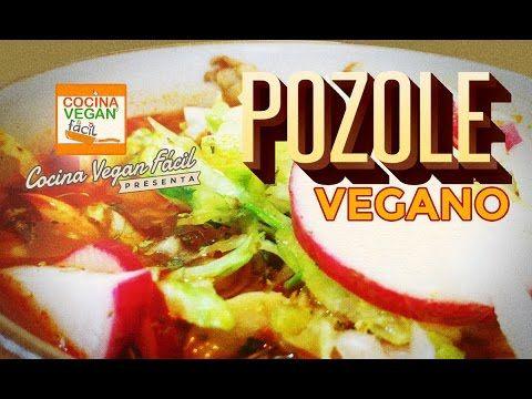Pozole Vegano (rojo) - Cocina Vegan Fácil (Reeditado)
