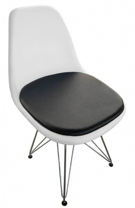 Cushion For Eames Molded Plastic Side Chair By Studiocityloft 59 99 Whiteplasticchairs