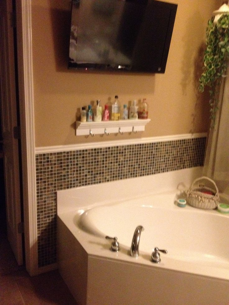 7 best garden tub tile images on pinterest bathroom Bathroom ideas with garden tub