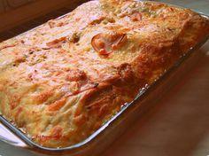 Τα λιλά της Λίλας: Σουφλέ με τυριά,αλλαντικά και ψωμί του τόστ