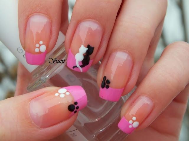 Beauty by Suzi cat #nail #nails #nailart