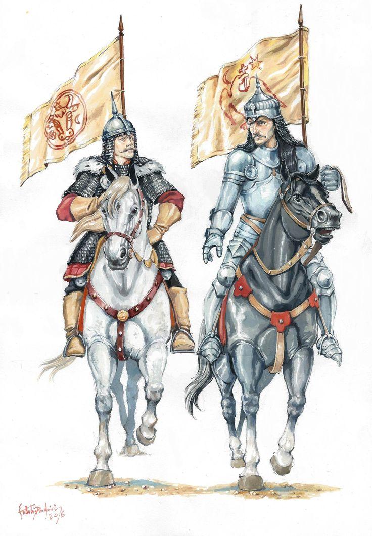 Vlad Tepes & Stefan cel Mare