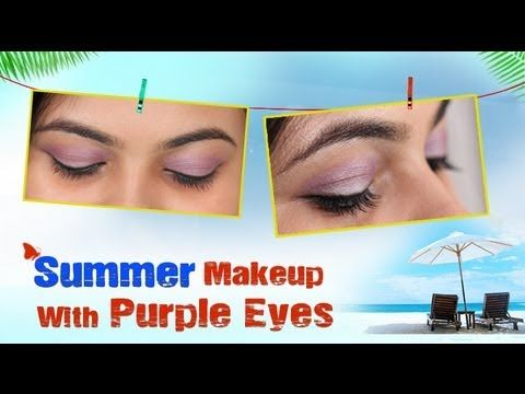 Summer Makeup With Purple Eyes - Do it Yourself http://www.youtube.com/watch?v=6utxhs4_Osg
