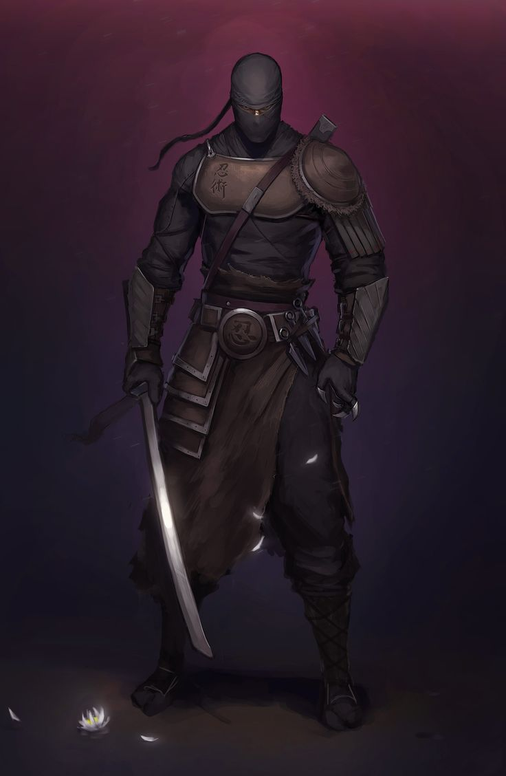 ArtStation - Ninja, Aleksey Bayura