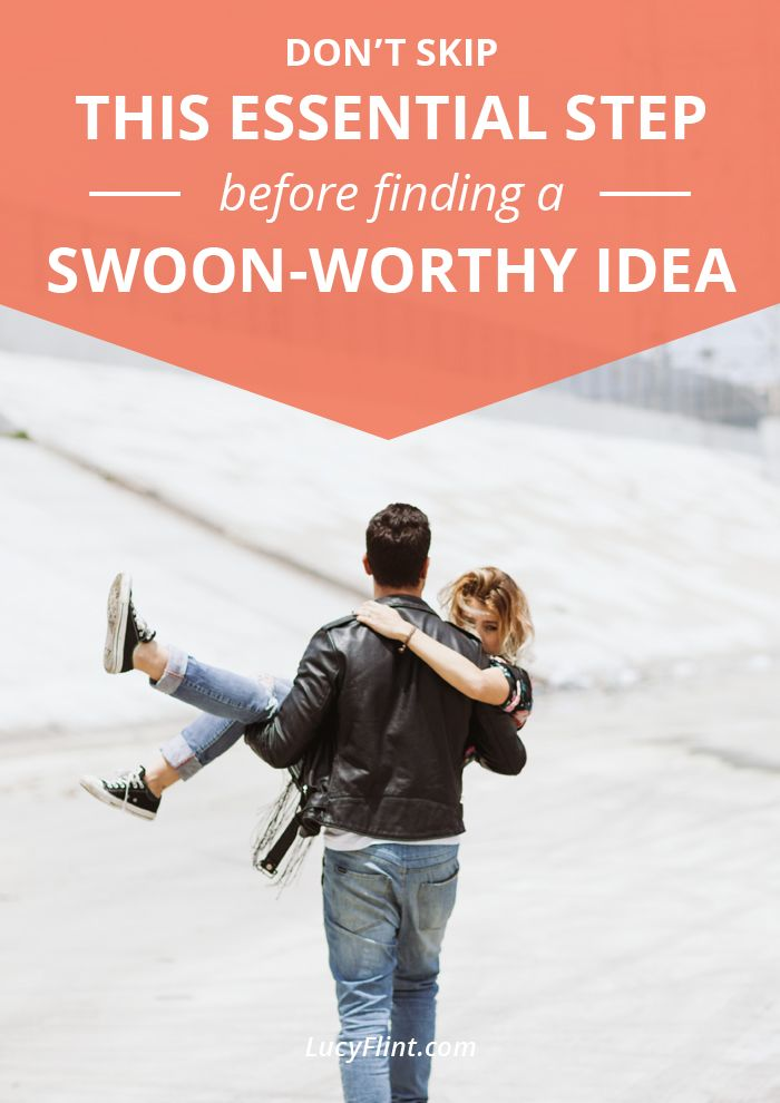 Don't skip this essential step before finding a swoon-worthy idea!  Find out how to troubleshoot that dastardly writer's block ...