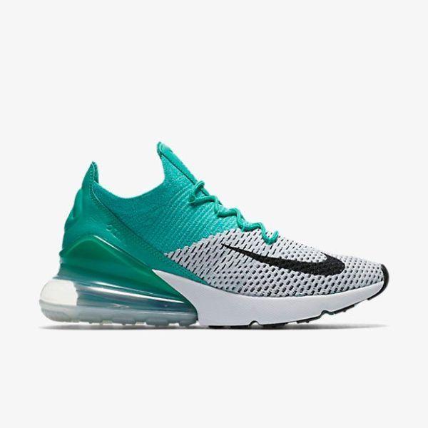 a756bb8a0e Nike Air Max 270 Flyknit Clear Emerald | I love shoes | Air max 270 ...
