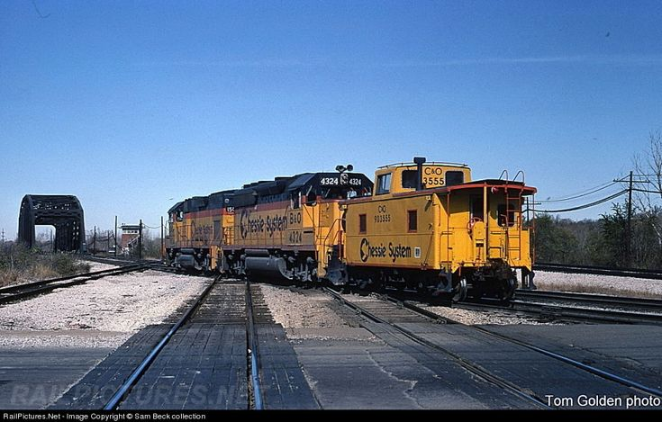 RailPictures.Net Photo: BO 4324 Baltimore & Ohio (B) EMD GP40-2 at Blue Island, Illinois by Sam Beck collection