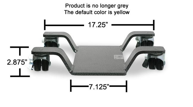 Park-n-Move 2.5'' Motorcycle Center Stand Dolly - FREE SHIPPING
