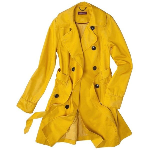Merona® Womens Trench Coat -Assorted Colors - Yellow, red, or cobblestone. - 25+ Best Yellow Trench Coat Ideas On Pinterest Fendi Clutch