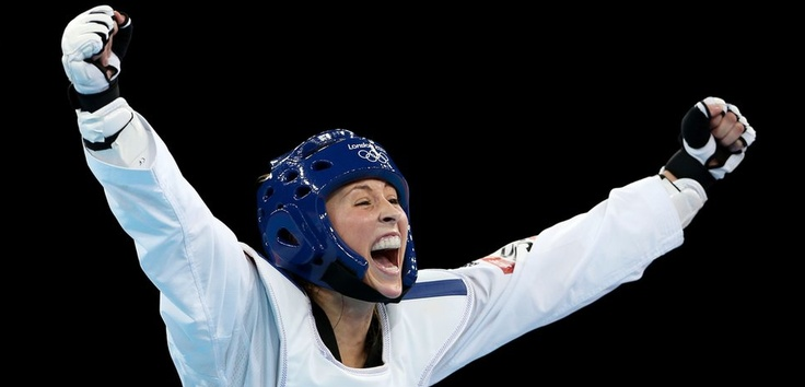 It was another first when Welsh teenager Jade Jones won Britain's first ever Olympic taekwondo Gold after defeating Yuzhuo Hou from China.