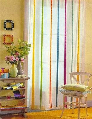 velos con cintas de colores