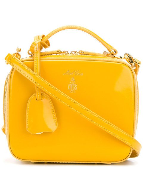 28b8ad849b7 Mark Cross Baby Laura Tote - Farfetch   Yellow Bags n Accessories in ...
