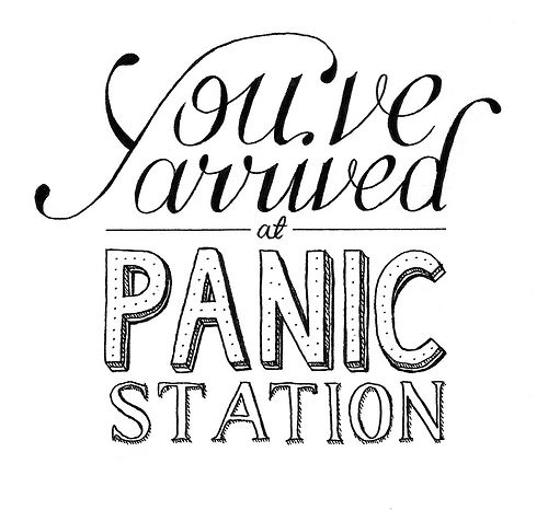 Panic Station ~Muse. Love this song. So funky lol.