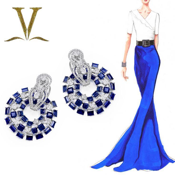 Elegance & Beauty #Adornologists #VarunaDJani #Mumbai #Earings