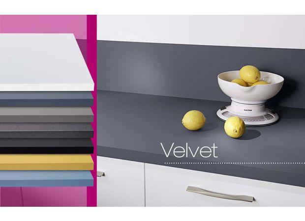 Plan de travail stratifié Velvet - Cuisine