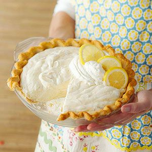 Lemon Rhubarb Pie