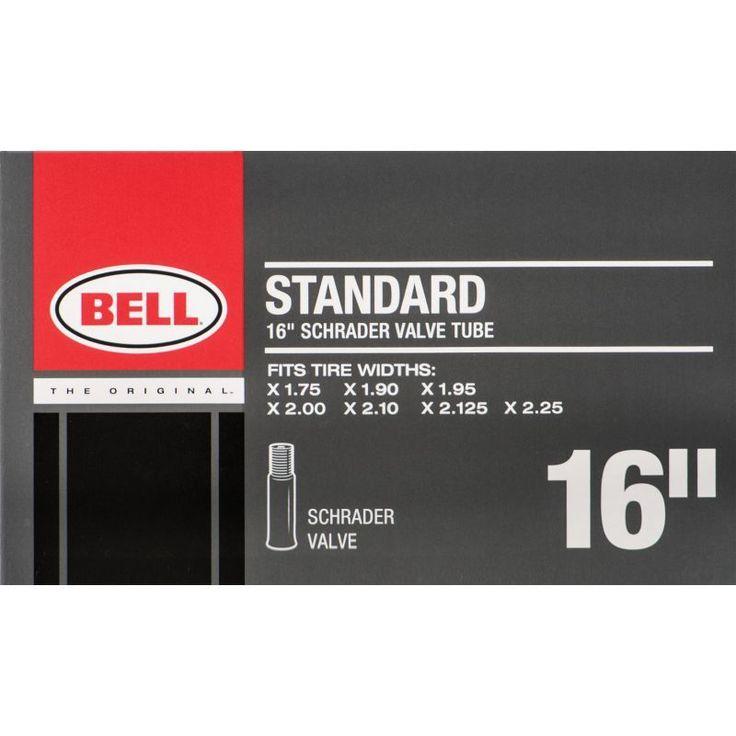 "Bell Standard Schrader Valve 16"" Bike Tube"